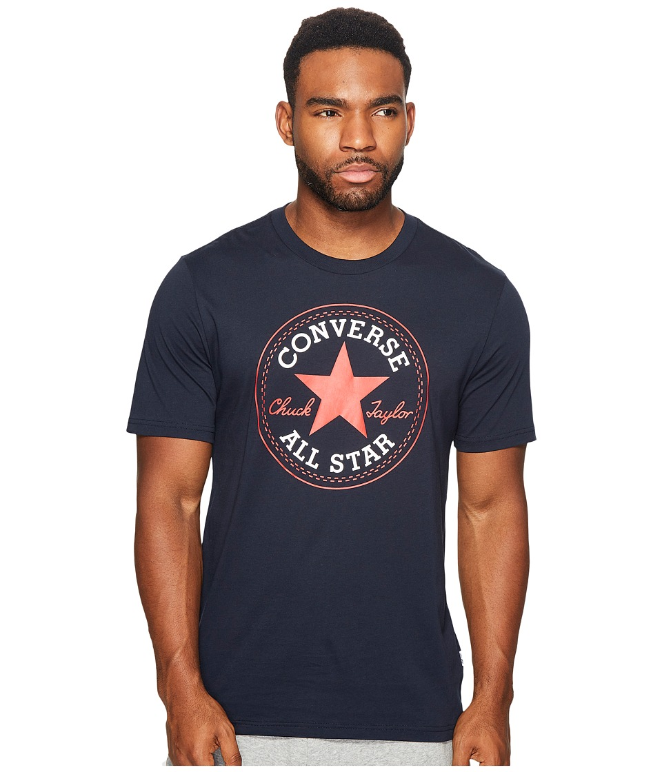 Converse - Core Chuck Patch Tee (Obsidian) Mens T Shirt