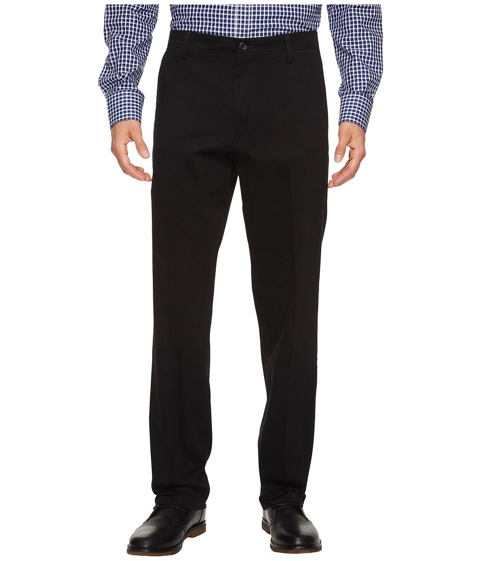 Dockers - Easy Khaki D3 Classic Fit Pants (Black) Mens Clothing