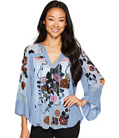 Hale Bob - Brilliant Blossoms Velvet Burnout Top