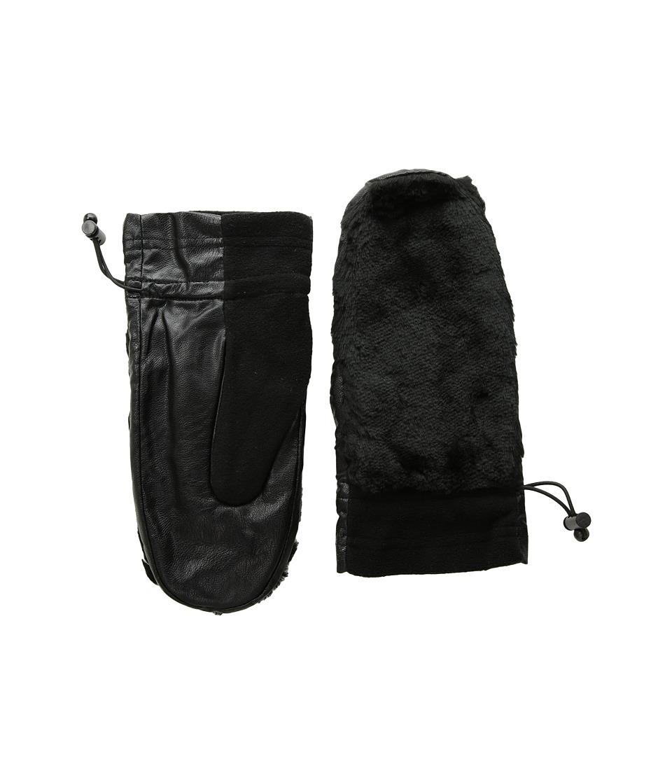 Pistil Toasty Mitten (Black) Over-Mits Gloves
