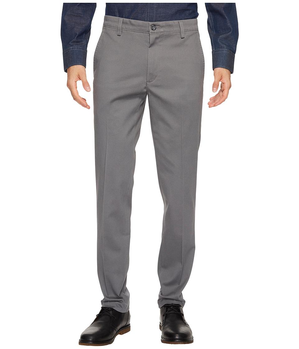 Dockers - Easy Khaki Slim Tapered Fit Pants (Burma Grey) Mens Clothing
