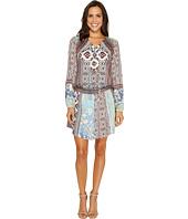 Hale Bob - A Fine Line Stretch Satin Woven Dress