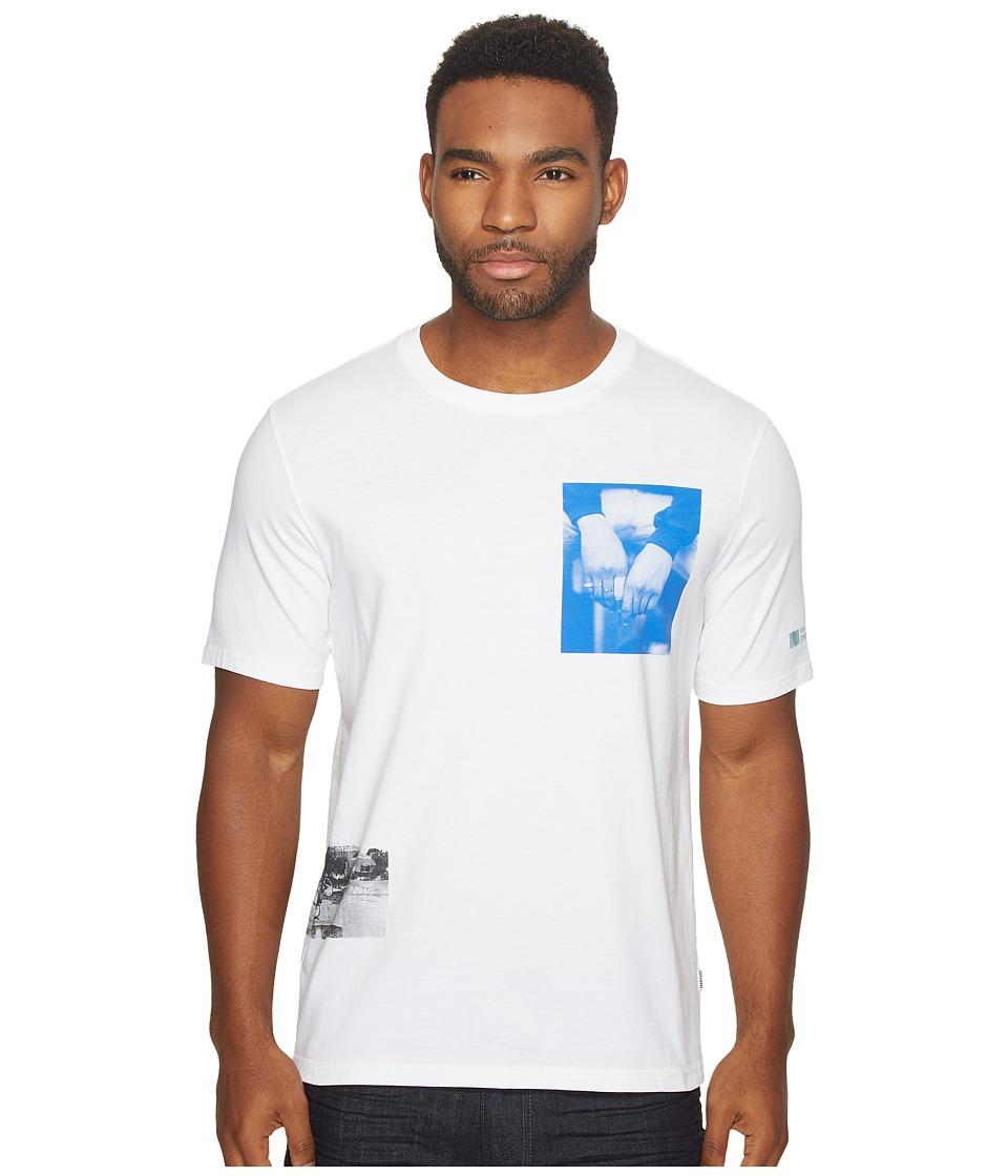Converse - Cons Photo Short Sleeve Tee (White) Mens T Shirt