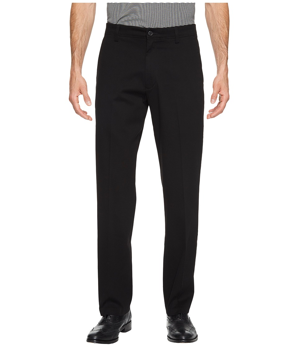 Dockers - Easy Khaki D2 Straight Fit Trousers (Black) Mens Clothing
