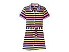 Toobydoo - Short Sleeve Belted Shirtdress (Toddler/Little Kids/Big Kids)