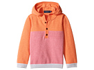Toobydoo - Pink Henley Hoodie (Infant/Toddler)