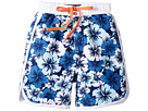 Toobydoo - Hawaiian Blue Boardshorts (Infant/Toddler/Little Kids/Big Kids)