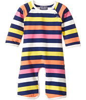 Toobydoo - Multi Stripe Bootcut Jumpsuit (Infant)