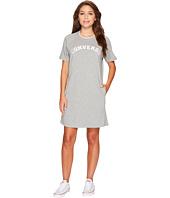 Converse - Satin Trim Sweatshirt Dress