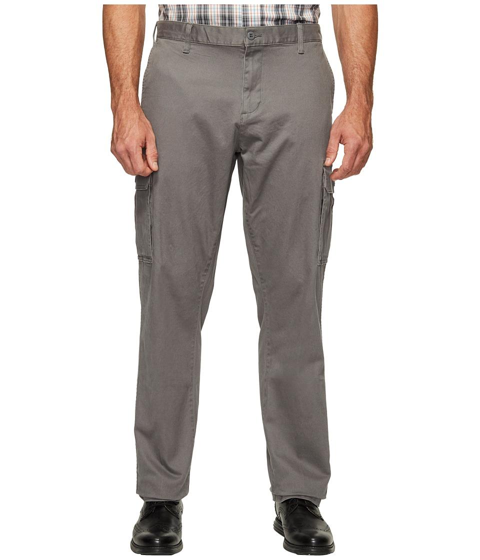 Dockers Big Tall Cargo Pants (Burma Grey) Men