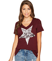 Converse - Metallic Star Photo Fill Short Sleeve Tee