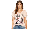 Converse Blocked Floral Type Femme Tee