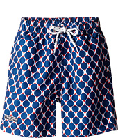 Toobydoo - Navy and Red Swim Shorts (Infant/Toddler/Little Kids/Big Kids)