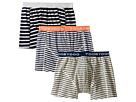 Toobydoo Multi Stripe Underwear 3-Pack (Infant/Toddler/Little Kids/Big Kids)