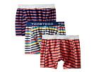 Toobydoo Toobydoo Multi Stripe Underwear 3-Pack (Infant/Toddler/Little Kids/Big Kids)