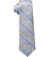 Cufflinks Inc. - Marvel Comics Grey and Blue Stripe Tie