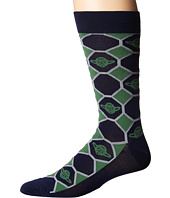 Cufflinks Inc. - Yoda Navy Checker Socks