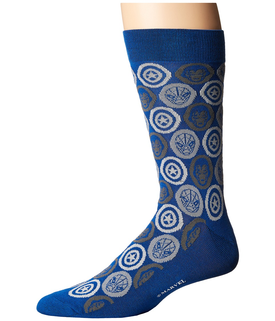 Cufflinks Inc. - Marvel Comic Favorites Socks (Blue) Crew...