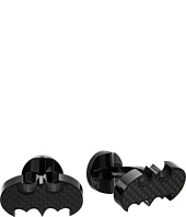 Cufflinks Inc. - Stainless Steel Carbon Fiber Batman Cufflinks