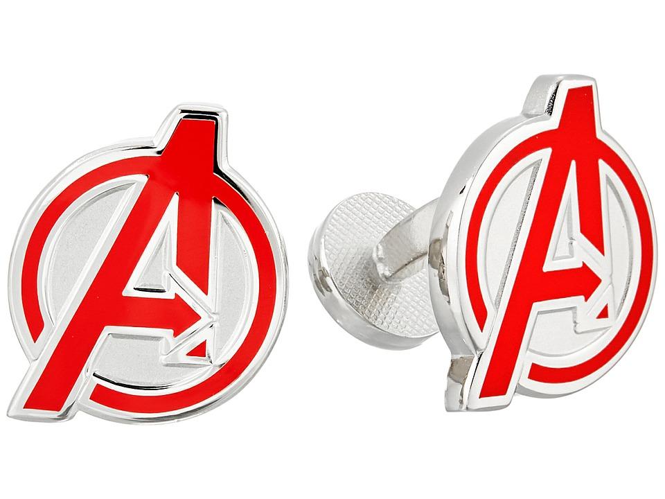 Cufflinks Inc. - Avengers Cufflinks (Red) Cuff Links