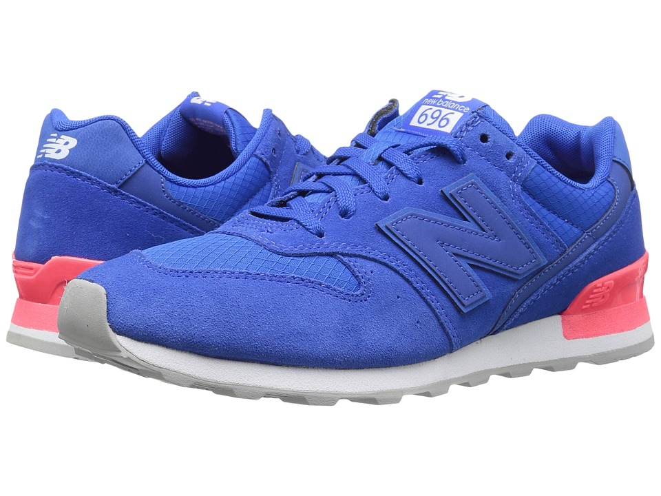 New Balance Classics WL696 (Blue/Energy Red) Women