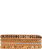 Chan Luu - Semi-Precious Stone Mix Wrap Bracelet