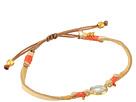 Semi-Precious Stone Pull Tie Bracelet