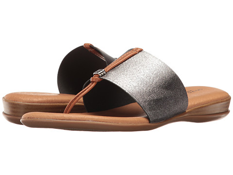 Andre Assous Nice - Pewter Elastic