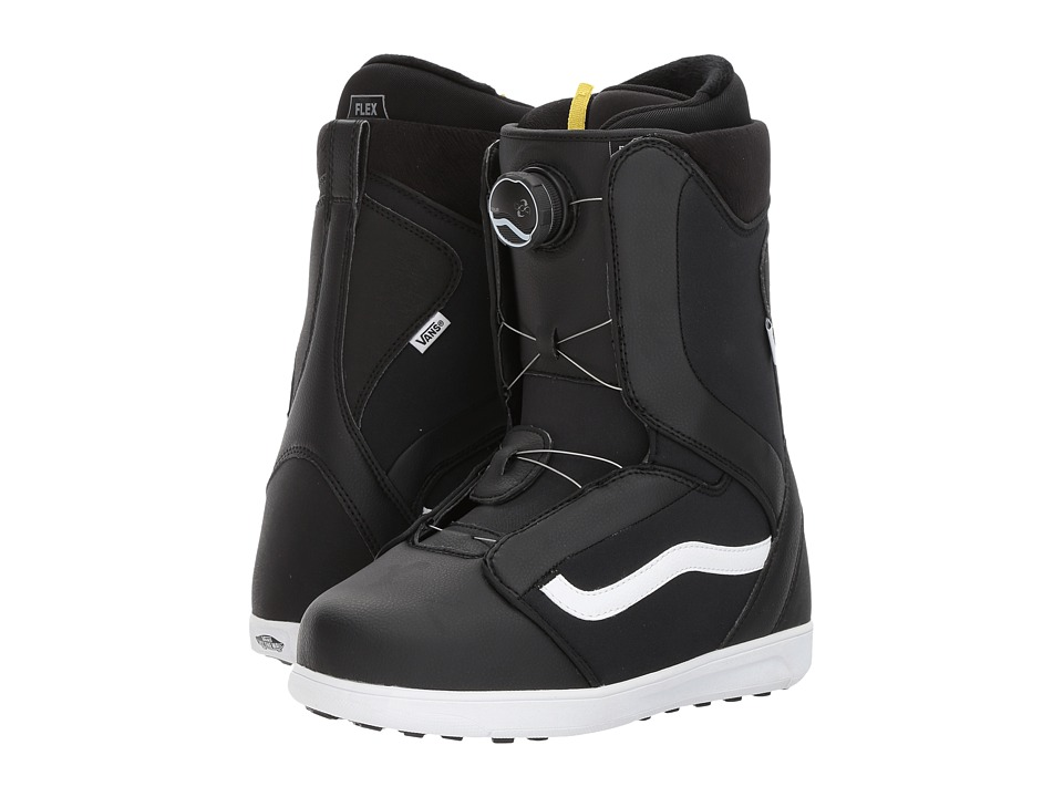 Vans Encore (Black/White) Women's Cold Weather Boots