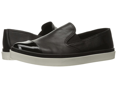 Andre Assous Danielle - Black/Black Nappa Leather/Patent Leather