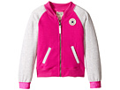 Converse Kids - Raglan Varsity Jacket (Toddler/Little Kids)