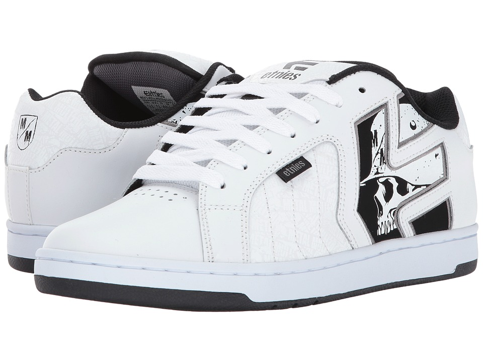 etnies Metal Mulisha Fader 2 (White/Black/Grey) Men