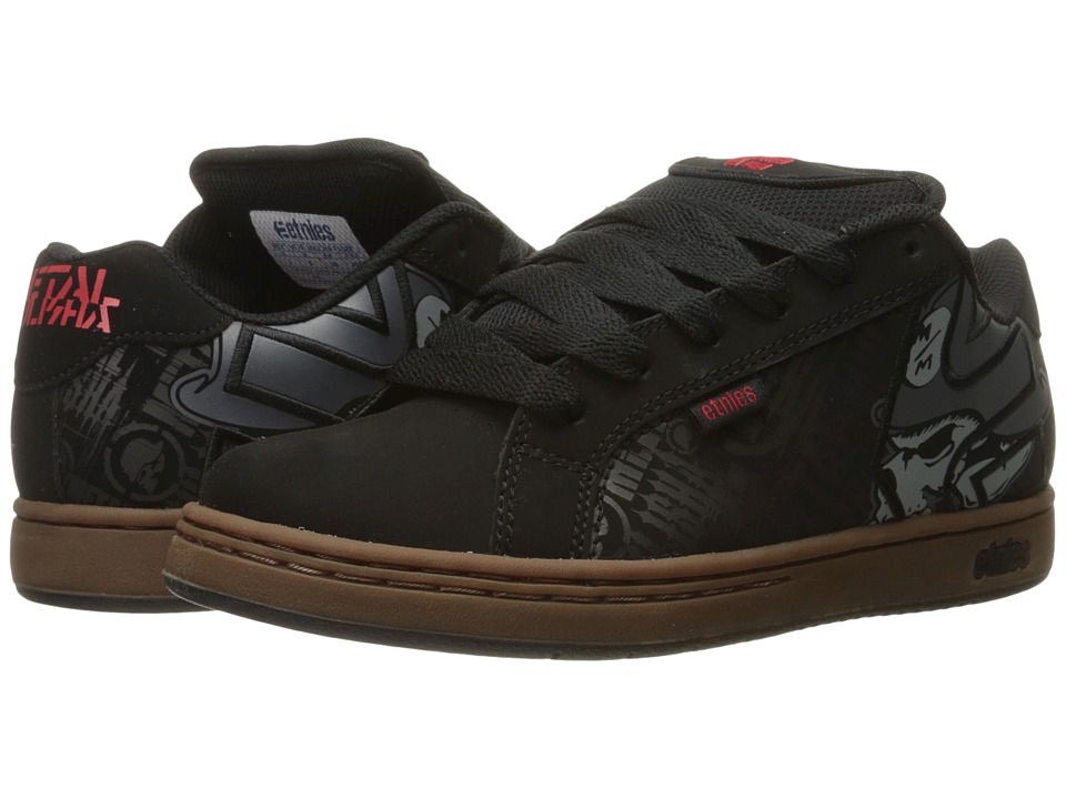 Etnies Fader x Metal Mulisha (Black/Gum/Grey) Men's Skate...
