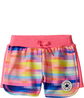 Converse Kids - Printed Knit Shorts (Little Kids)