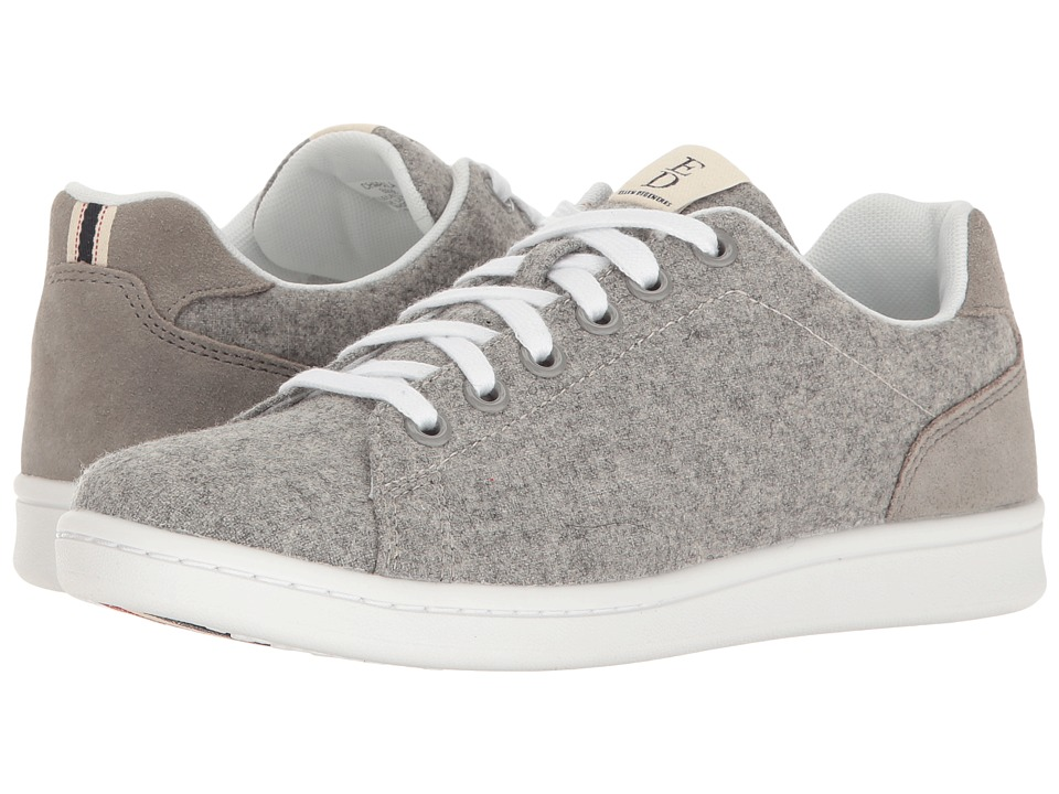 ED Ellen DeGeneres - Chapala (Light Grey Fabric) Womens Lace up casual Shoes