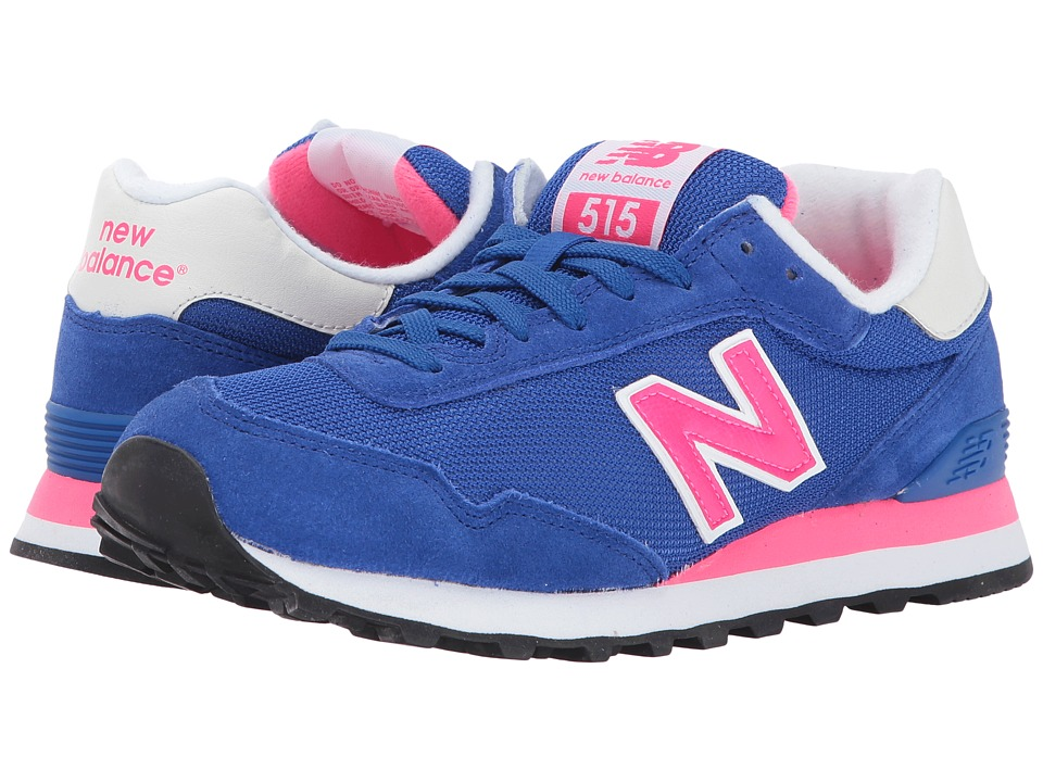 New Balance Classics WL515 (Team Royal/Alpha Pink) Women