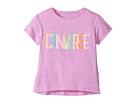 Converse Kids - Neon Lights Boxy Tee (Toddler/Little Kids)