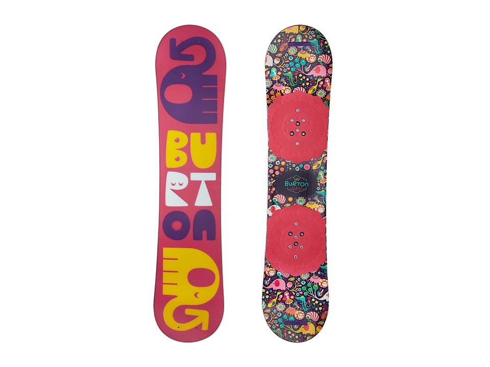 Burton Kids - Chicklet '18 120 (Youth) (Multi) Snowboards...