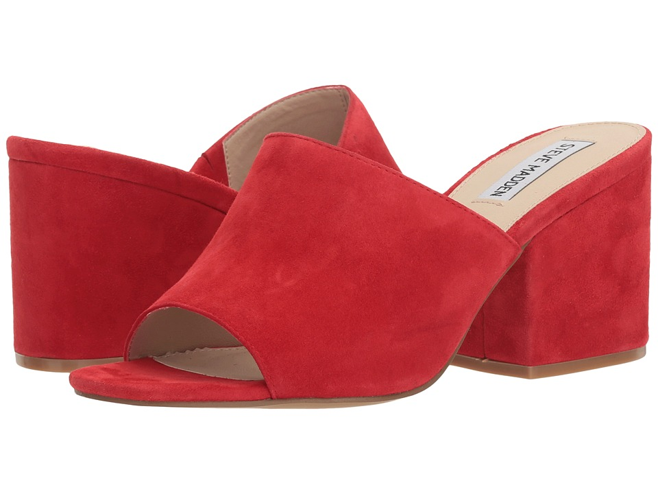 Steve Madden Dalis (Red Suede) Women