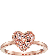 Swarovski - Field Folded Heart Ring