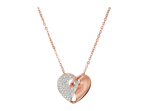 Swarovski Small Guardian Necklace - Rose/White