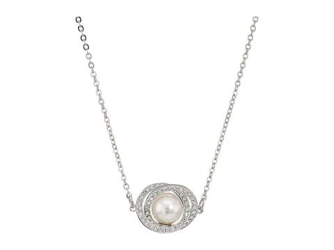 Swarovski Elaborate Pendant Necklace - White