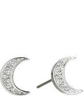 Swarovski - Crystal Wishes Moon Pierced Earrings