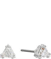 Swarovski - Attract Triangle Stud Pierced Earrings