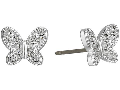 Swarovski Field Butterfly Pierced Earrings - White