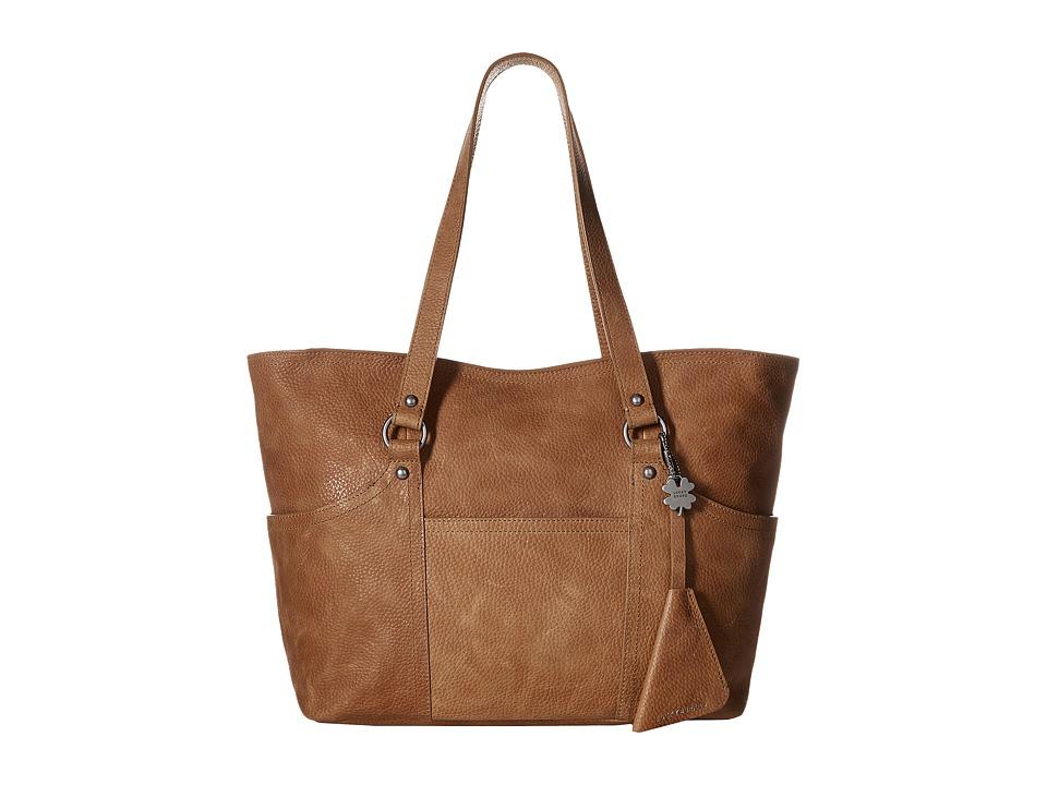 Lucky Brand Corey Medium Tote (Sandywood) Tote Handbags
