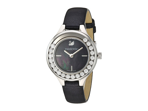 Swarovski Lovely Crystals Mini Watch - Black/White
