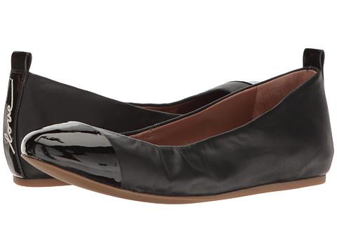 ED Ellen DeGeneres Lilliane2 - Black Leather/Patent PU