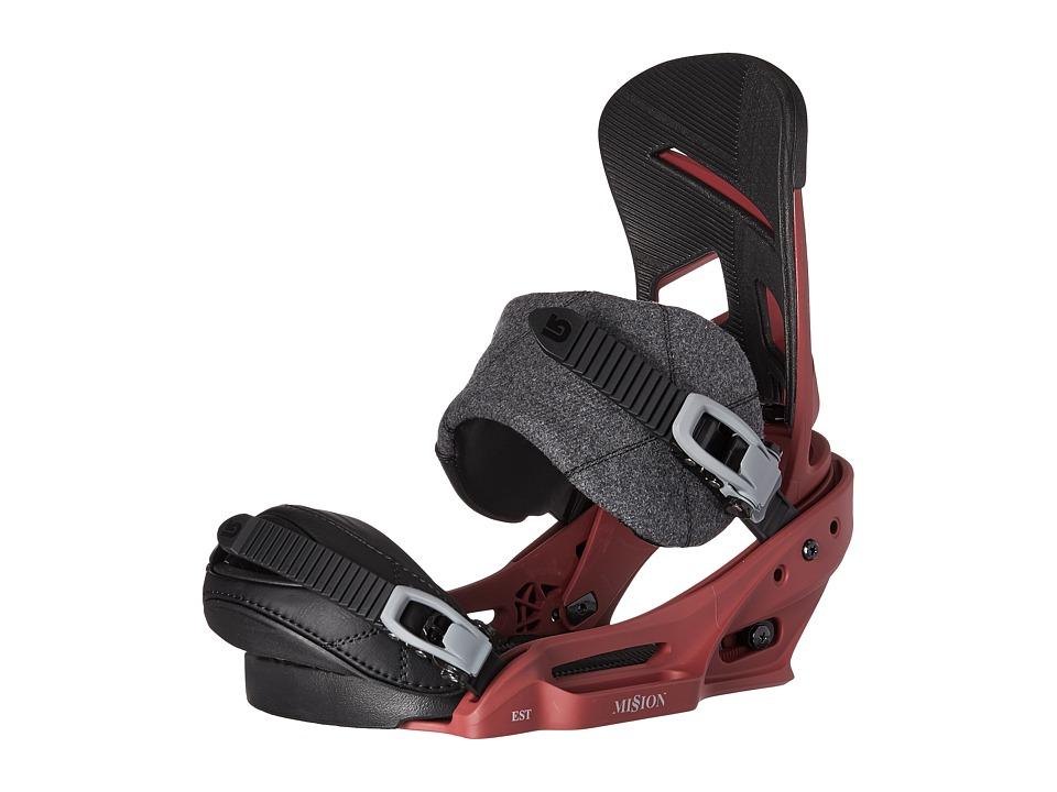 Burton Mission EST '18 (Brickyard) Snowboards Sports Equi...