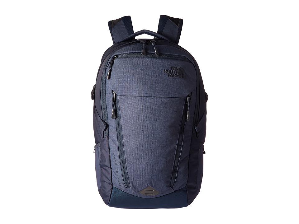 The North Face - Surge Transit (Urban Navy Light Heather/Urban Navy) Backpack Bags